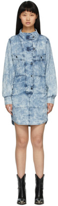 Etoile Isabel Marant Blue Denim Inaroa Shirt Dress
