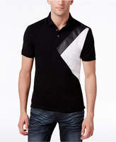 INC International Concepts Men's Colorblocked Polo, Created for Macy's