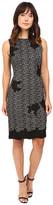 Taylor Knit Jacquard Sheath Dress