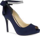 Nina Karen Platform Evening Pumps