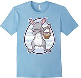Dabbing Easter Bunny Shirt For Boys Girls Adults Kids