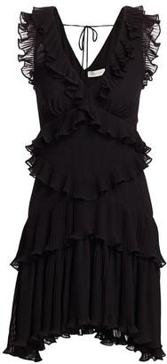 Zimmermann Super 8 Frill Mini Dress