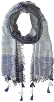 BCBGMAXAZRIA Color Block Scarf