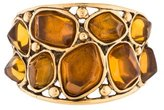 Oscar de la Renta Resin Bangle Bracelet