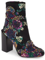 Jeffrey Campbell Women's Stratford Embellished Brocade Bootie