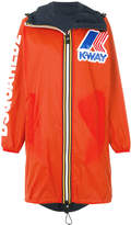 DSQUARED2 x K-Way wind breaker coat