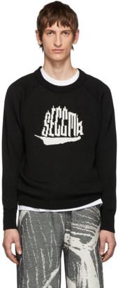 Serapis Black Logo Sweater