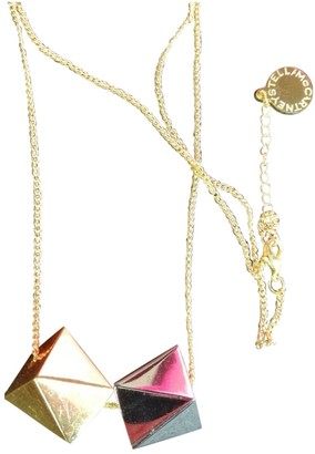 Stella McCartney Gold Metal Long necklaces