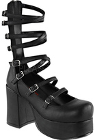 Demonia Women's Abbey 08 Cage Platform Shoe