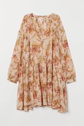 H&M MAMA Balloon-sleeved dress
