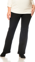 Motherhood Plus Size Petite Boot Cut Maternity Pants