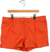 Milly Minis Girls' Cuffed Shorts