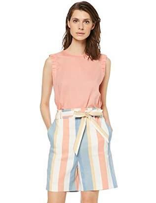 BOSS Women's Citravel_2 Blouse, (Light/Pastel Orange 835), (Size: 38)