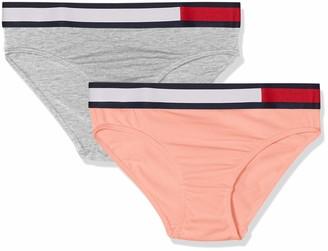 Tommy Hilfiger Girls' 2P Bikini