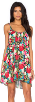 Wildfox Couture Floral Shift Dress
