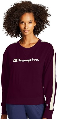 Champion Women's Heritage Crew with Taping