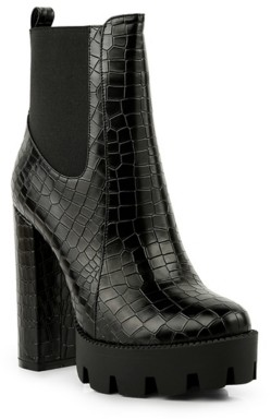 London Rag Beatriz Platform Bootie