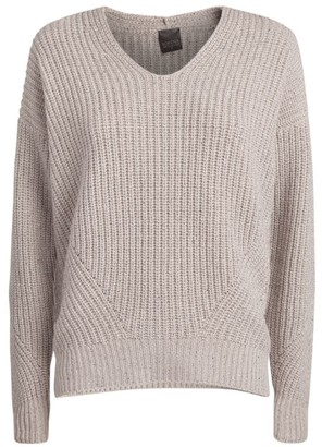 Lorena Antoniazzi Lurex Chunky-Knit Sweater