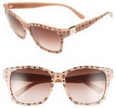 MCM Women's 'Visetos' 59Mm Retro Sunglasses - Avio Visetos