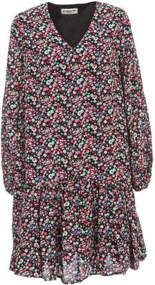 Essentiel Antwerp Verci V Neck Flounced Dress L/s