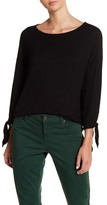 Gibson Tie Sleeve Knit Top