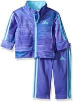 adidas Baby' Fashion Tricot Jacket and Pant Set