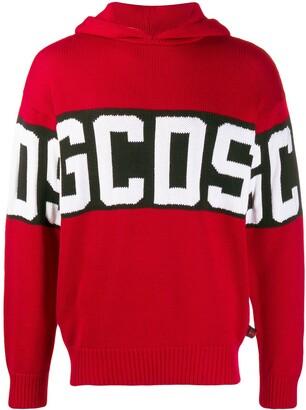 GCDS branded hoodie