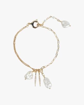 Carolee River Charm Cluster Bracelet