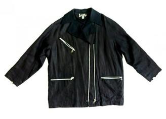 JC de CASTELBAJAC Black Cotton Jackets