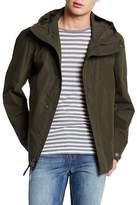 Woolrich Camo Rudder Hooded Jacket