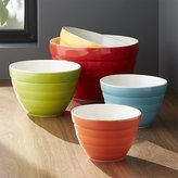 Crate & Barrel Baker Nesting Bowls, Set of 5