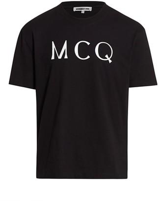 McQ Dropped Shoulder Logo T-Shirt