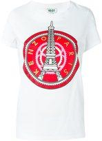 Kenzo 'Eiffel Tower' T-shirt - women - Cotton - XS