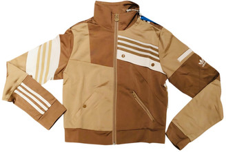 adidas Beige Polyester Jackets