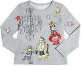 Dolce & Gabbana Alice In Wonderland Print Jersey T-Shirt