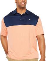 Izod Short Sleeve Knit Polo Shirt Big and Tall