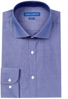 Vince Camuto Slim Fit Chambray Dress Shirt