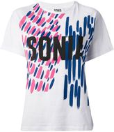 Sonia Rykiel Sonia By brushstroke print T-shirt