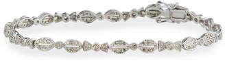 Sydney Evan 14k White Gold Diamond Bow Tie Bracelet