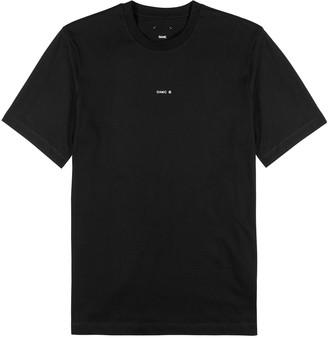 Oamc Black logo cotton T-shirt