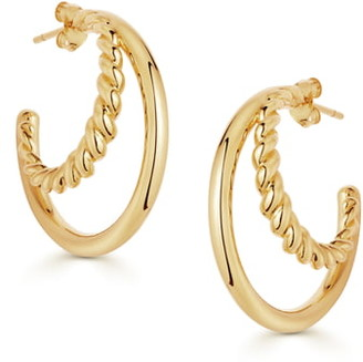 Missoma Radial Hoop Earrings