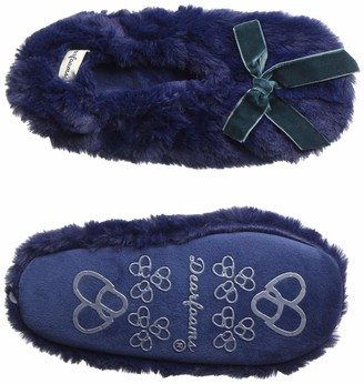 Dearfoams Women's Fluffy Toasty Slipper Sock