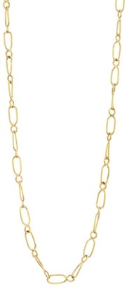 Temple St. Clair Nature Deconstructed River 18K Yellow Gold Chain Necklace