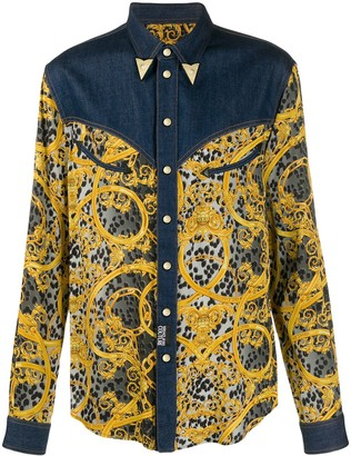 Versace Jeans Couture Filigree Print Shirt