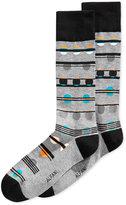 Alfani Men's Dot Stripe Socks, Only at Macy's