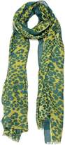 Violet Del Mar Leopard Scarf