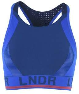 LNDR GAMMA HIGH NECK SEAMLESS SPORTS BRA WITH JERSEY BACK Top