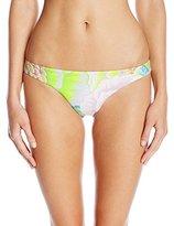 Mara Hoffman Women's Flora Low Rise Bikini Bottom