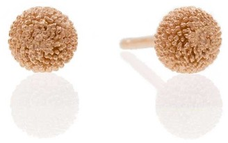 Lee Renee Dahlia Earrings Rose Gold