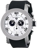 Swiss Legend Men's 30465-02S Cyclone Analog Display Swiss Quartz Black Watch